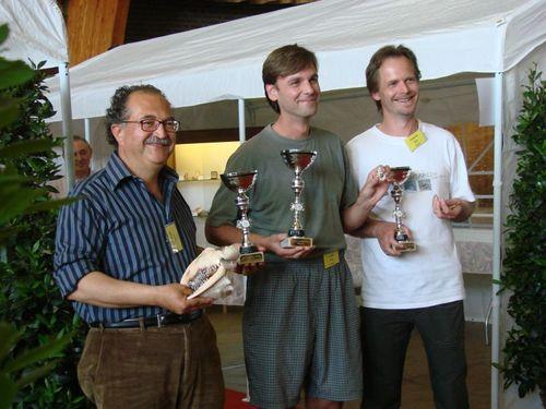 Laureaci konkursu ?Shell of the Show ? nagroda międzynarodowego jury?. Od lewej: Tiziano Cossignani /Włochy/, Felix Lorenz /Niemcy/ oraz Koen Fraussen /Belgia/.