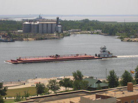 I jeszcze tylko spojrzenie na ujście rzeki Mobil do Zatoki Meksykańskiej?i można marzyć o nowym kolekcjonerskim święcie ? tym razem 1-5 sierpnia 2007 roku w Portland /Oregon/.