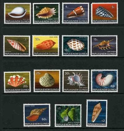 Barwna i wielogatunkowa seria z Papui Nowej Gwinei.