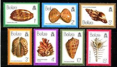 Znaczki z Belize, 1980.