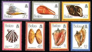 Druga część bardzo dużej serii z Belize, 1980.