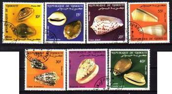 Stemplowana seria z Dżibuti.