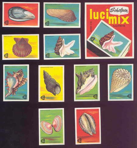 Charakterystyczna holenderska seria pudełek z osiemdziesiątych lat ubiegłego wieku.