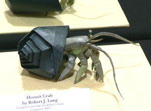 Jeden z konkursowych projektów Pana Langa - ?Hermit Crab? (2005 r.)