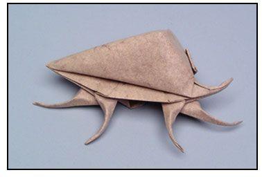 ?Murex 1?, opus 146 (1992 r.) cykl: ?Origami Sea Life? (wielkość 6 cali)