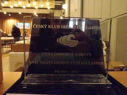 A oto nagroda, o którą zabiegali kolekcjonerzy na praskiej wystawie w 2012 roku..